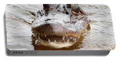 Gator Eyes Portable Battery Charger by Carol Groenen