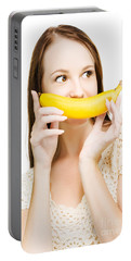 Going Fruity And Bananas Portable Battery Charger by Jorgo Photography - Wall Art Gallery