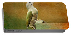 Grey-headed Woodpecker Portable Battery Charger by Heike Hultsch