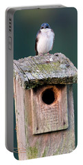 Home Sweet Home Portable Battery Charger by Bill Wakeley