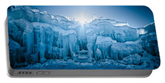 Ice Castle Portable Battery Charger by Edward Fielding