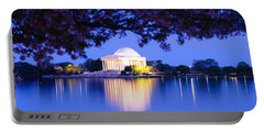Jefferson Memorial, Washington Dc Portable Battery Charger by Panoramic Images