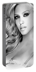 #1 Jessica Alba Portable Battery Charger by Alan Armstrong