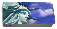 Lady Liberty Portable Battery Charger by Jon Neidert