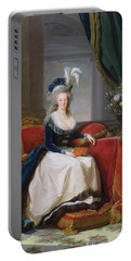Marie Antoinette Portable Battery Charger by Elisabeth Louise Vigee-Lebrun