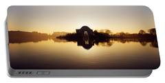 Memorial At The Waterfront, Jefferson Portable Battery Charger by Panoramic Images