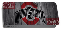 Ohio State Buckeyes Portable Battery Charger by Dan Sproul