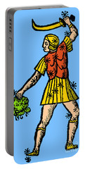 Perseus Constellation 15th Century Portable Battery Charger by Science Source