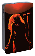 Shakira Portable Battery Charger by Paul Meijering