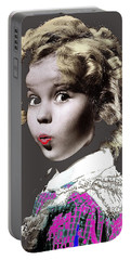 Shirley Temple Publicity Photo Circa 1935-2014 Portable Battery Charger by David Lee Guss