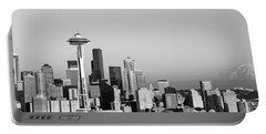 Skyline, Seattle, Washington State, Usa Portable Battery Charger by Panoramic Images