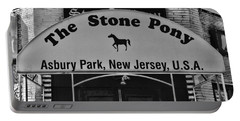 Stone Pony Portable Battery Charger by Paul Ward