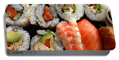 Sushi Portable Battery Charger by Les Cunliffe