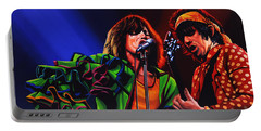 The Rolling Stones 2 Portable Battery Charger by Paul Meijering