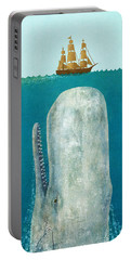 The Whale  Portable Battery Charger by Terry  Fan