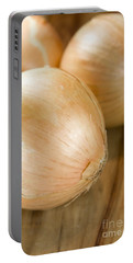 Unpeeled Onions Portable Battery Charger by Jorgo Photography - Wall Art Gallery