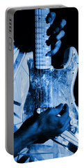 Vh #1 In Blue  Portable Battery Charger by Ben Upham
