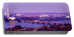 Washington Dc Portable Battery Charger by Panoramic Images