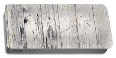 Weathered Paint On Wood Portable Battery Charger by Tim Hester