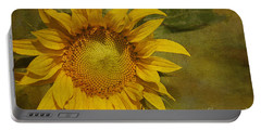 Sunflower Portable Battery Charger by Cindi Ressler