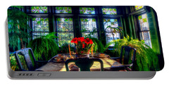 Glensheen Mansion Duluth Portable Battery Charger by Amanda Stadther