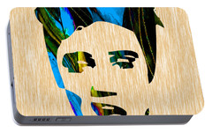 Elvis Presley Portable Battery Charger by Marvin Blaine