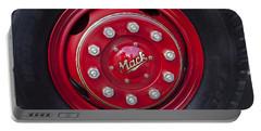 1952 L Model Mack Pumper Fire Truck Wheel Portable Battery Charger by Jill Reger