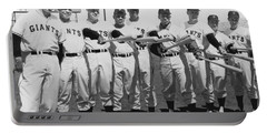 1961 San Francisco Giants Portable Battery Charger by Underwood Archives