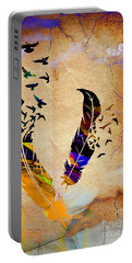 Birds Of A Feather Portable Battery Charger by Marvin Blaine