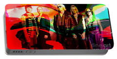 Def Leppard Portable Battery Charger by Marvin Blaine