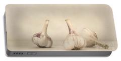 Fresh Garlic Portable Battery Charger by Priska Wettstein