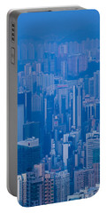 High Angle View Of Buildings Portable Battery Charger by Panoramic Images