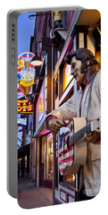 Music City Usa Portable Battery Charger by Brian Jannsen