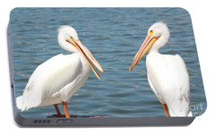 Pelican Pals Portable Battery Charger by Carol Groenen