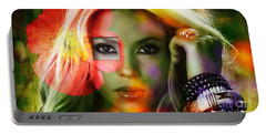 Shakira Portable Battery Charger by Marvin Blaine
