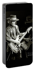 Stevie Ray Vaughan 1984 Portable Battery Charger by Chuck Spang