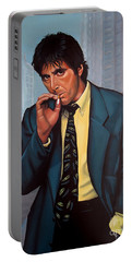 Al Pacino  Portable Battery Charger by Paul Meijering