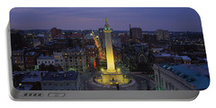 High Angle View Of A Monument Portable Battery Charger by Panoramic Images