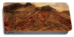 Navajo Nation Series Along 87 And 15 Portable Battery Charger by Bob and Nadine Johnston