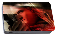 Orlando Bloom Portable Battery Charger by Marvin Blaine