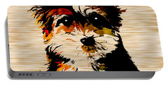 Yorkshire Terrier Portable Battery Charger by Marvin Blaine