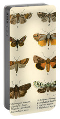 Butterflies Portable Battery Charger by English School