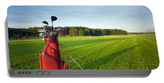 Golf Gear Portable Battery Charger by Michal Bednarek