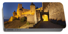 Medieval Carcassonne Portable Battery Charger by Brian Jannsen