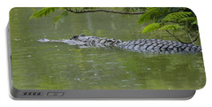 American Alligator Portable Battery Charger by Mark Newman