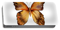 7 Yellow Gorgon Butterfly Portable Battery Charger by Amy Kirkpatrick