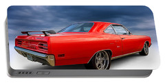 '70 Roadrunner Portable Battery Charger by Douglas Pittman
