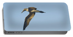 Blue-footed Booby Portable Battery Charger by William H. Mullins