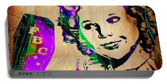 Shirley Temple Collection Portable Battery Charger by Marvin Blaine