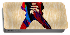Elvis Portable Battery Charger by Marvin Blaine